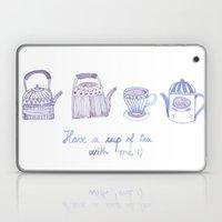 Decorative teapots Laptop & iPad Skin