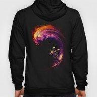 Space Surfing Hoody