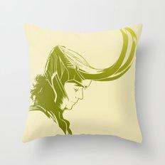 Prince of Asgard Throw Pillow