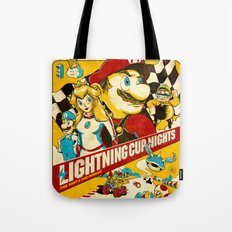 Lightning Cup Nights: Th… Tote Bag