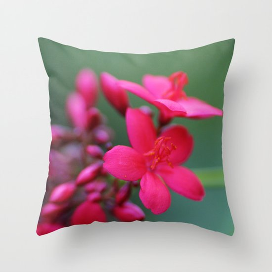 inBloom Throw Pillow