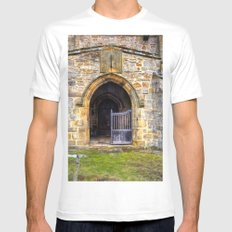 Holy Trinity Church, Wensley Mens Fitted Tee SMALL White