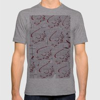 Air Mens Fitted Tee Athletic Grey SMALL