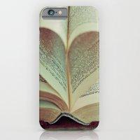 i heart books iPhone 6 Slim Case