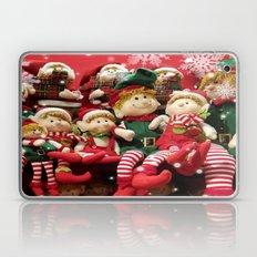Merry Christmas Elves Laptop & iPad Skin