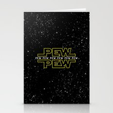 Pew Pew V2 Stationery Cards