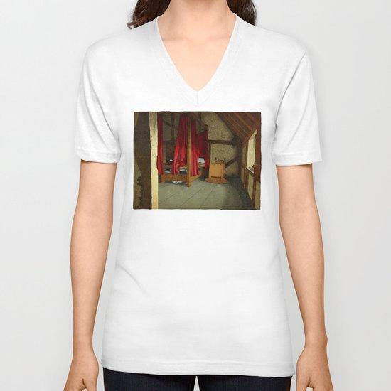 Morning V-neck T-shirt