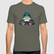 dysty_symmytry Mens Fitted Tee Lieutenant SMALL