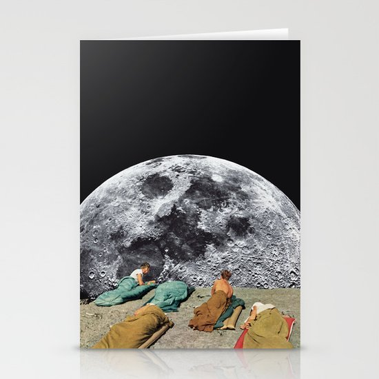 CAMPGROUND Stationery Card
