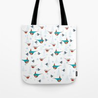 winter pattern3 Tote Bag