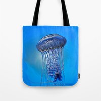 Jelly in the Blue Tote Bag