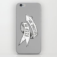 Keep On Keeping On iPhone & iPod Skin