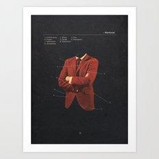 Manhood Art Print