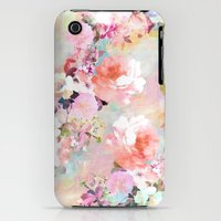 iPhone 3Gs & iPhone 3G Cases featuring Love of a Flower by Girly Trend