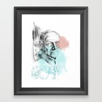Age Framed Art Print