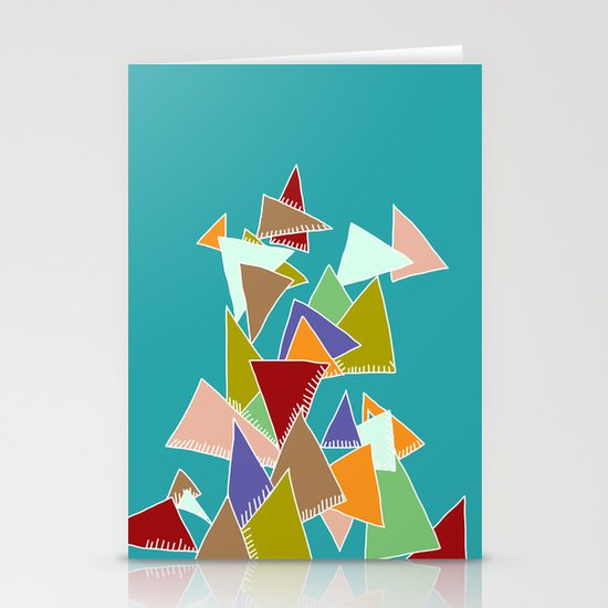 Triads Triads Triads Stationery Card