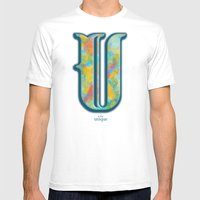 U Is For Unique Mens Fitted Tee White SMALL