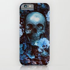 Skull and Flowers Slim Case iPhone 6s