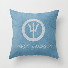Percy Jackson Throw Pillow