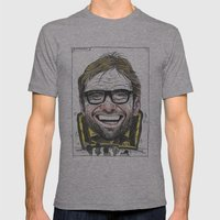 KLOPP Mens Fitted Tee Athletic Grey SMALL
