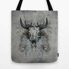 Something is squeezing my skull! Tote Bag