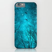 black iPhone & iPod Cases featuring Stars Can't Shine Without Darkness  by soaring anchor designs