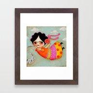 Frida's Song Framed Art Print