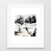 wintercoat Framed Art Print