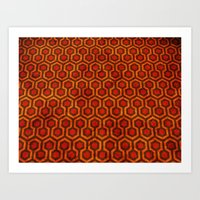 Overlook Hotel Art Print