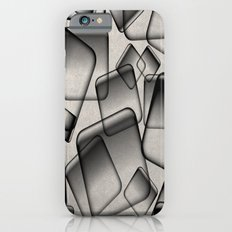 Square Bubbles - Abstract, geometry pattern iPhone 6 Slim Case
