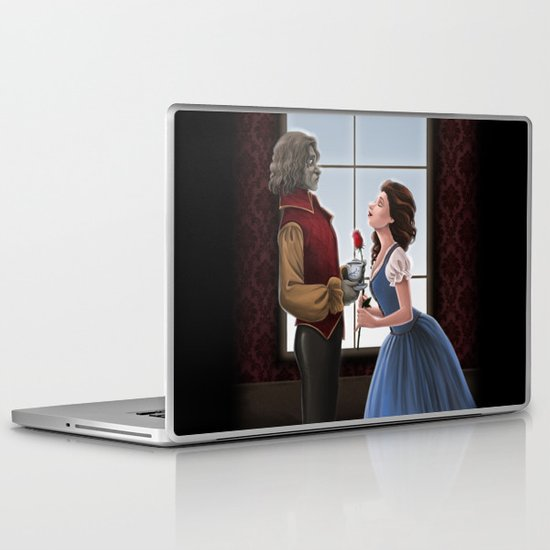 Beauty and the Beast Laptop & iPad Skin
