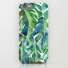 Split Leaf Philodendron – Green iPhone 6 Slim Case