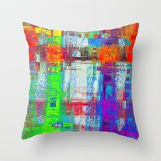 There's nothing waiting, there's nothing imminent, Throw Pillow