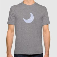 Circles & Curls Craze Mens Fitted Tee Tri-Grey SMALL