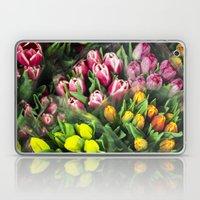 Tulips At Market Laptop & iPad Skin