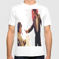 DEATH WISH Mens Fitted Tee White SMALL