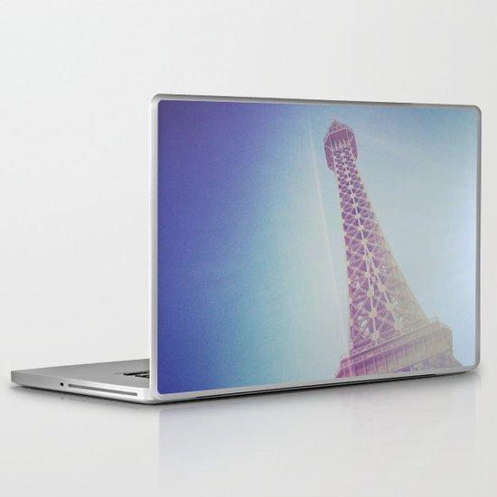 Faux Eiffel Laptop & iPad Skin