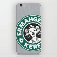 Ermahgerd, Kerfer! iPhone & iPod Skin