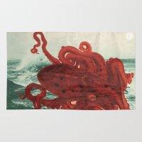 Octopus Beach Rug