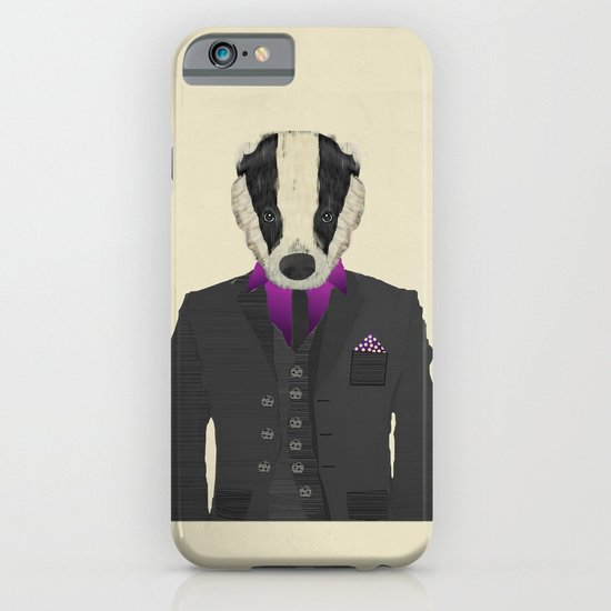 mr badger iPhone & iPod Case