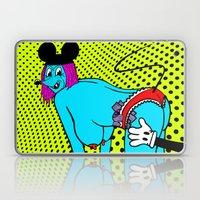 BIG TIPS.  (Mouseketeer).  (On Yellow). Laptop & iPad Skin
