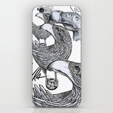 vultures and crows iPhone & iPod Skin