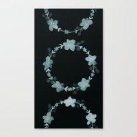 Gray Green Canvas Print