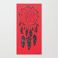 Dream on Dreamer Canvas Print