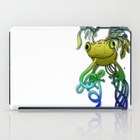 Psychoactive Frog iPad Case