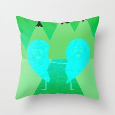 The Course of Love Throw Pillow