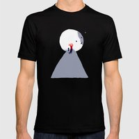Red Tree Mens Fitted Tee Black SMALL