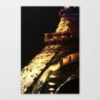 Paris Lights 2 Canvas Print