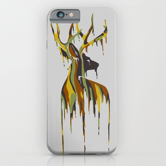 Painted Stag iPhone & iPod Case