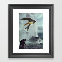 Collage #21 Framed Art Print